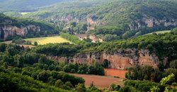Vallée du Lot (après l'orage)