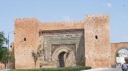 Main entrance gate of old medina