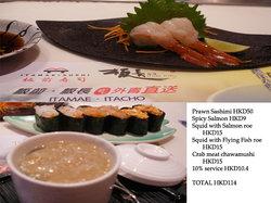 Itamae-Sushi