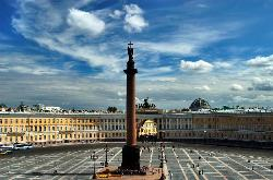 Palace Suqare with a view of Winter Palace and Alexander Column (25872343)