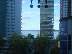 vistas del mar desde la habitación