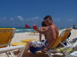 refreshing beach drink