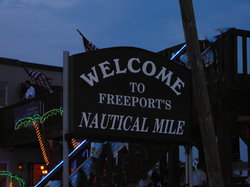 Freeport's Nautical Mile