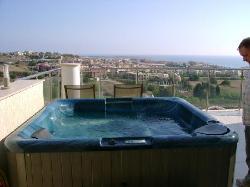 the hot tub!!!
