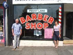 Barbers Shop in Penny Lane