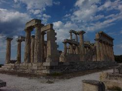 Ancient temple of Aphaia