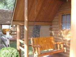 Porch swings nice