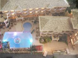This is the miniture of the hotel