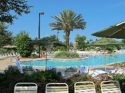 pool/lazy river area