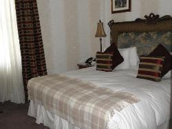 comfortable rooms for a good nights sleep:)