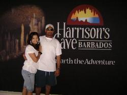 At Harrison's Cave
