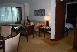 Very roomy suite