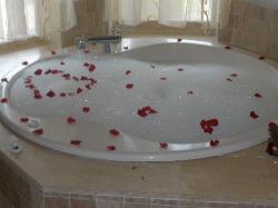 Bubble Bath Juan made for us
