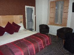 Room as seen from entry door