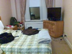 Our bed, our mess :-)