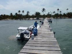 another view of the dock looking towards pescador