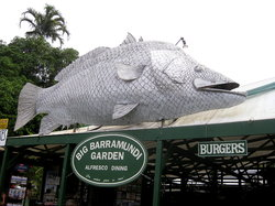 Big Barramundi BBQ Garden