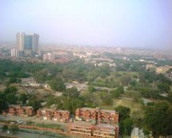 A view of Nea Delhi from the Hotel