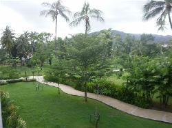 View from Garden Delux room