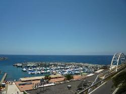 Left from the hotel towards the Puerto Rico Beach