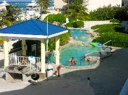 2 of the resort's 3 pools
