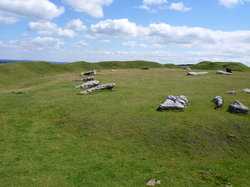 Arbor Low Stone Circle & Gib Hill Barrow
