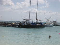 The Black Pearl (view from the shore)