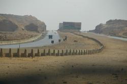 Road to Ain Sokhna - beauutiful and nearly empty!