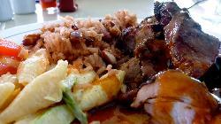 Jerk Pork at Posideon