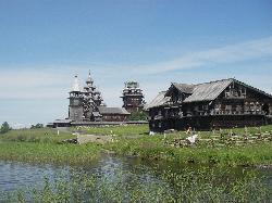 Holzbauten, Insel kizhi
