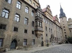 Schloss Merseburg, Innenhof