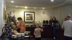 Club florr food area