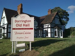 Dorrington Old Hall Persian Cuisine