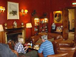 Drawling Room - this couple had the coolest dog who loved sleeping by the fire!