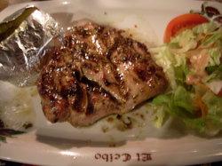 Delicious pork!