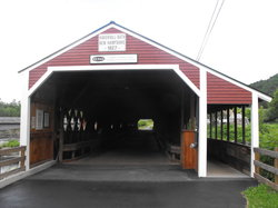 ‪Haverhill-Bath Covered Bridge‬