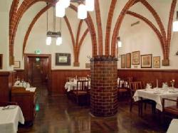 Goethezimmer im Restaurant Historische Weinstuben