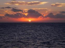 Sunrise on Jekyll Island at 6:51 am