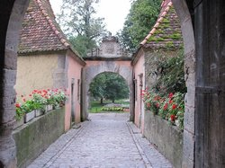 Burgtor und Burg