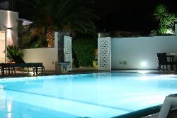 vista della piscina esterna