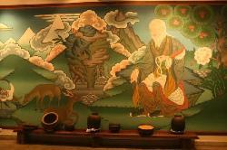 Zhiwa Ling lobby