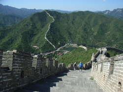 Water Great Wall at Huanghuacheng