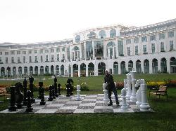 Life Size Chess at the Ritz Powerscourt
