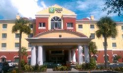 Front of Holiday Inn Exress