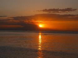 The world famous Manila Bay sunset