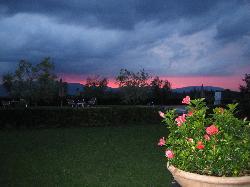 Sunset from the inn