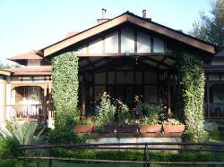 The tea-bungalow style porch