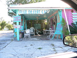 ‪Blue Desert Cafe‬