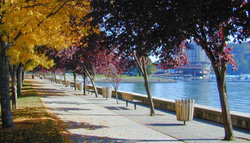 Coeur d'Alene in the fall