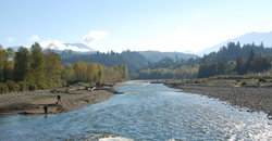 Fishing on the Chilliwack/Vedder River
